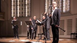 vienna clarinet connection Helmut Hödl Klarinette Rupert Fankhauser Klarinette Hubert Salmhofer Bassetthorn Wolfgang Kornberger Bassklarinette Überraschungsgäste