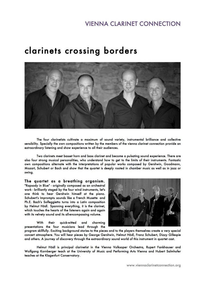 About Us – vienna clarinet connection